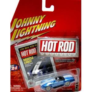 Johnny Lightning Hot Rod Magazine - Shelby Cobra 427