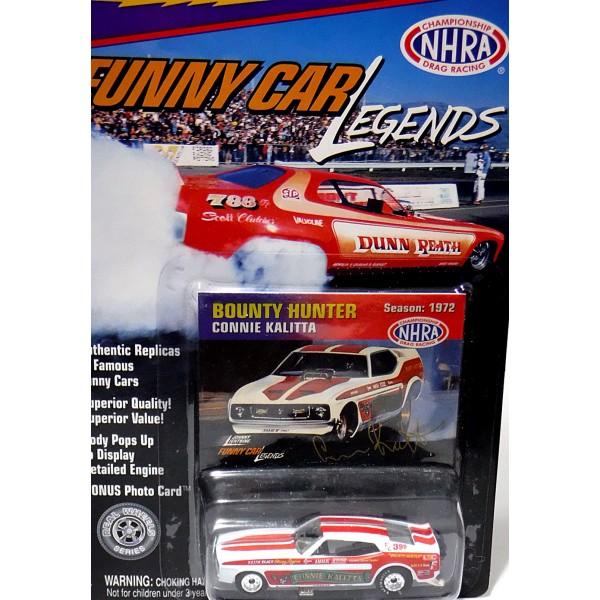 Johnny Lightning Funny Car Legends Connie Kalitta Bounty Hunter