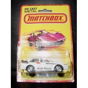 Matchbox Audi Sport Rallye Car