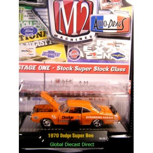 M2 Machines Auto Drags NHRA 1970 Dodge Super Bee - MOPAR
