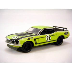 Greenlight Muscle Car Garage 1969 Ford Mustang Boss 302
