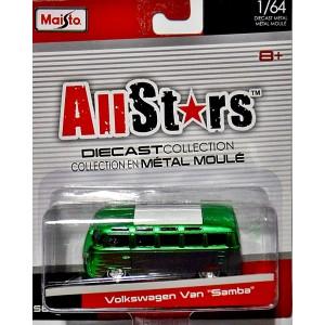 Maisto All Stars - Volkswagen 21 Window Samba Bus