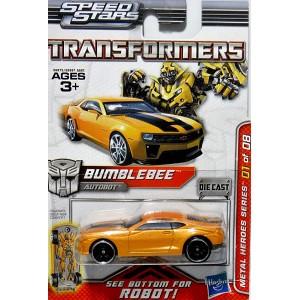 Hasbro Transformers Metal Heroes Series BumbleBee Chevrolet Camaro SS