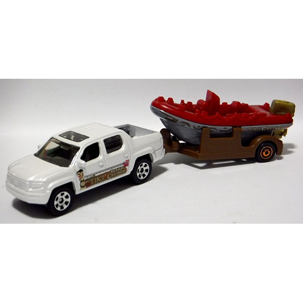 Matchbox Honda Ridgeline Pickup Truck Tiki Cruise Set on Matchbox Honda Ridgeline