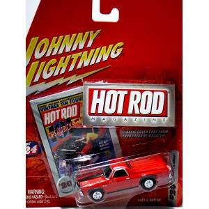 Johnny Lightning Hot Rod Magazine 1971 Chevy El Camino