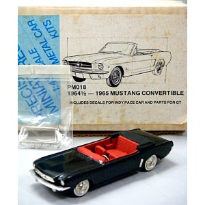 Precision Miniatures - 1964 1/2 Ford Mustang Convertible