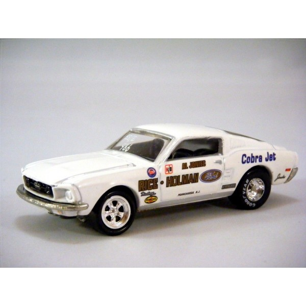 Mustang Cobra Jet >> Hot Wheels Hall of Fame Series - 1968 Ford Mustang Cobra ...
