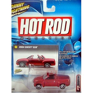 Johnny Lightning Hot Rod Magazine - Chevrolet SSR Pickup Truck
