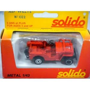 Solido (1322) - Ville de PARIS Jeep Willys