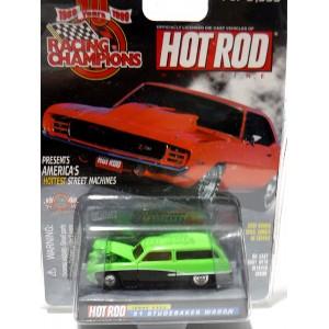 Racing Champions Hot Rod Magazine - 1951 StudebakerStation Wagon