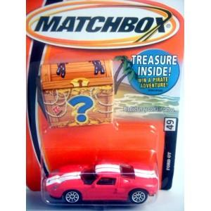 Matchbox Ford GT Supercar