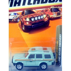 Matchbox Land Rover Discovery National Parks 4x4