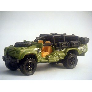 Matchbox Sahara Survivor Desert 4x4 Military Truck