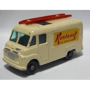 Matchbox Regular Wheels (62B-2) Rentaset TV Service Van