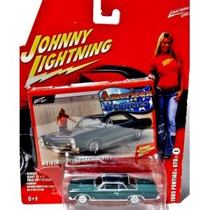 Johnny Lightning Amercian Beauties 1965 Pontiac GTO
