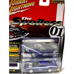Johnny Lightning Street Freaks Spoilers 1971 Plymouth GTX