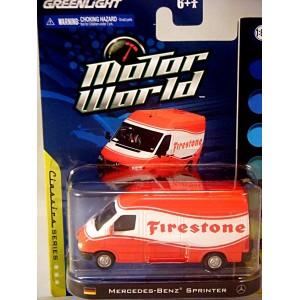 Greenlight Motor World Mercedes-Benz Sprinter - Firestone ...