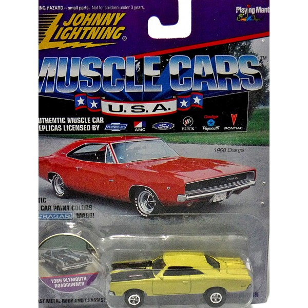 Johnny Lightning Muscle Cars Usa 1969 Plymouth Road Runner