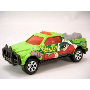 Matchbox Green Arrow 4x4 Pickup Truck - Batman