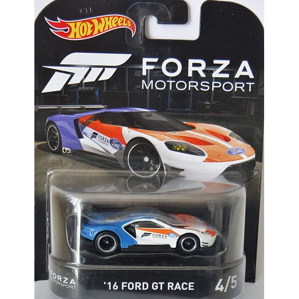 Hot Wheels Forza Motorsports  Ford Gt Race Globalcast Direct