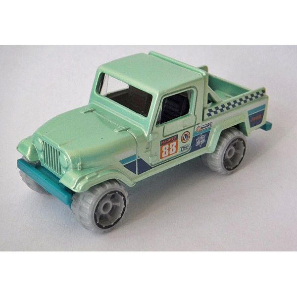 Hot Wheels Jeep Scrambler 4x4 Pickup Truck