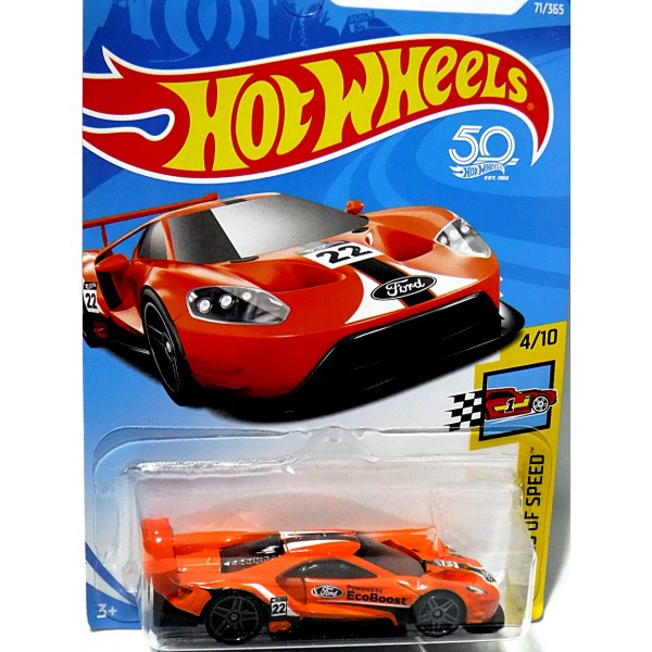 Hot Wheels Ford Gt Ecoboost Race