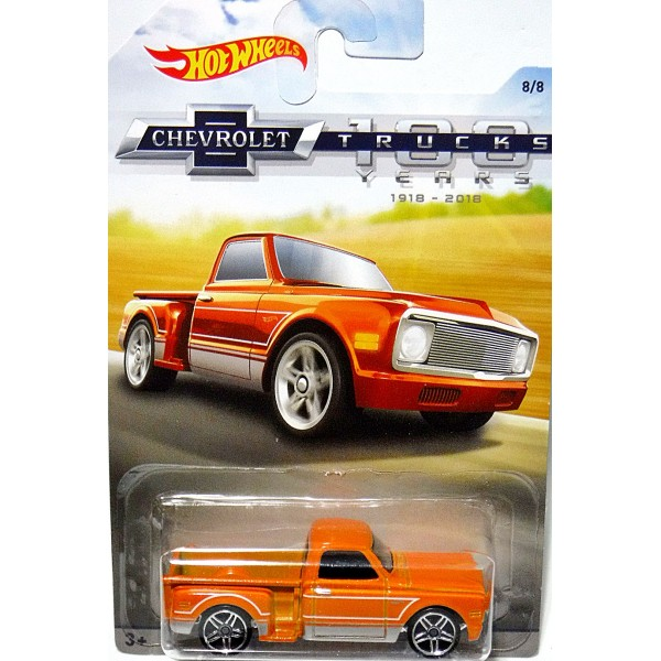 Hot Wheels Chevy Trucks 100 Years Custom 1969 Stepside Pickup Truck