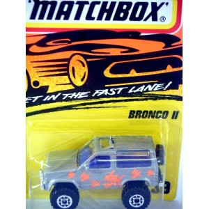 Matchbox Ford Bronco II Piranha