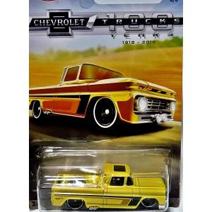 Hot Wheels Chevy Trucks 100 Years - Custom 1962 Chevy Pickup Truck