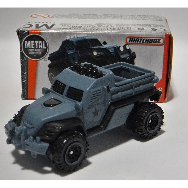 Matchbox Power Grabs - Road Raider Military Police Truck ...
