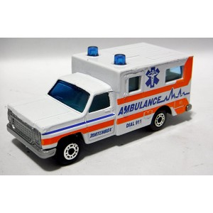 Matchbox: Chevrolet EMS Ambulance