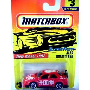 Matchbox Alfa Romeo 155 Race Car