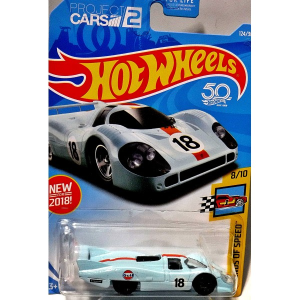 Hot Wheels - Gulf Racing Porsche 917 LH - Global Diecast ...
