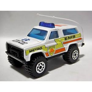 Matchbox Chevolet Blazer EMS Truck