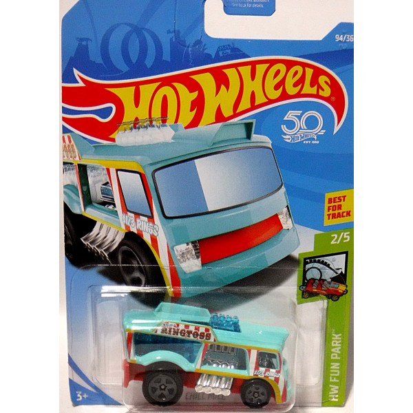 Hot Wheels - Gotta Go - Hot Rod Port-O-Potty Truck