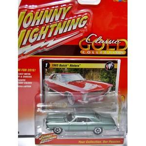 Johnny Lightning R2- Classic Gold - 1965 Buick Riviera