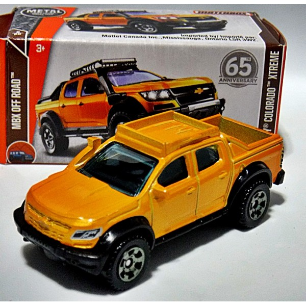 Matchbox Power Grabs - Chevrolet Colorado Pickup Truck ...