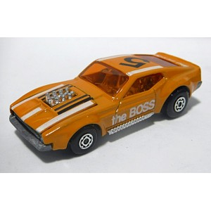 Matchbox Rolamatics - Ford Mustang Piston Popper The Boss