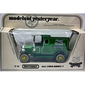 Matchbox Models of Yesteryear 1912 Ford Model T 25th Anniversary Truck