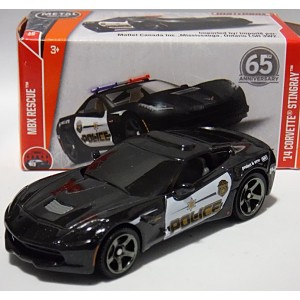 Matchbox Power Grabs - Chevrolet Corvette Police Patrol Car