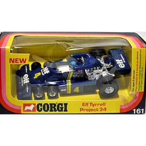 Corgi (162-B-1) Tyrrell P34 Race Car