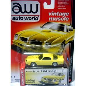 Auto World - 1976 Pontiac Firebird Trans Am