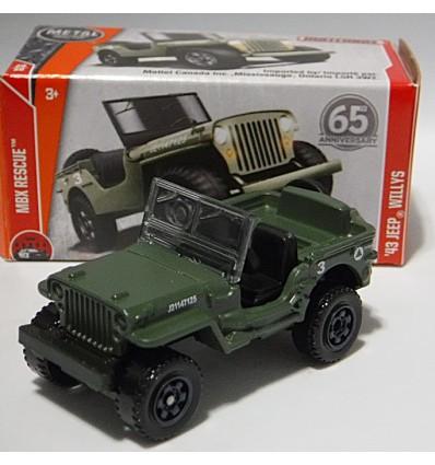 Matchbox Power Grabs - Jeep Cherokee Trailhawk
