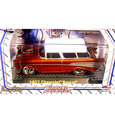 M2 Machines Ground Pounders Premium Edition 1957 Chevrolet Nomad