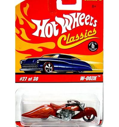Hot Wheels Classics WOOZIE Custom Motorcycle