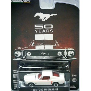 Green Light Hobby Exclusives - 50 Years - 1968 Ford Mustang GT