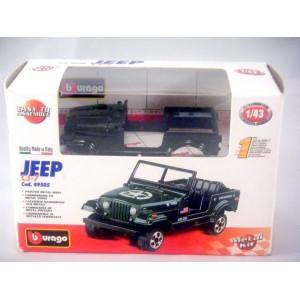 Bburago Military Jeep Diecast Model Kit