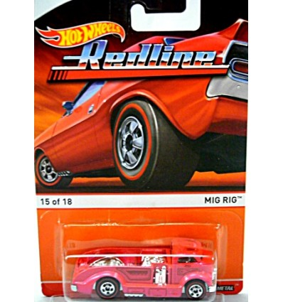 Hot Wheels Redline - Mig Rig Hot Rod Truck