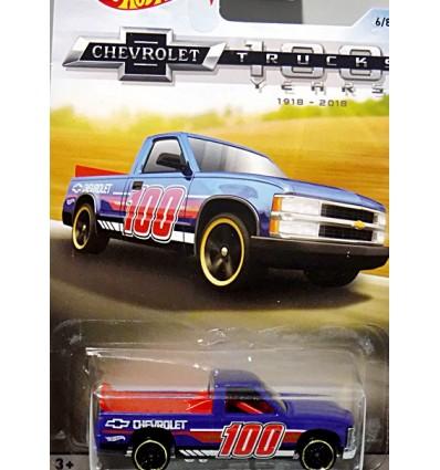 Hot Wheels Chevy Trucks 100 Years - Chevy 1500 Race Truck