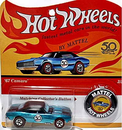 Hot Wheels 50th Anniversary Series - Custom 1967 Chevrolet Camaro